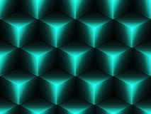 Abstract geometric isometric vector seamless pattern. Background Stock Image
