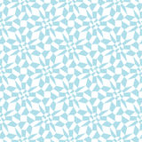 Abstract geometric light blue graphic design unique pattern Stock Photo