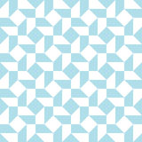 Abstract geometric light blue graphic design unique pattern Royalty Free Stock Photo