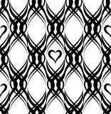 Abstract geometric line arabic texture. Geometric line black orn Stock Photography