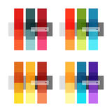 Abstract geometric line infographic templates. Geometric business abstract background for workflow layout, diagram, number options or web design Royalty Free Stock Photo