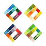 Abstract geometric line infographic templates. Geometric business abstract background for workflow layout, diagram, number options or web design Royalty Free Stock Photography