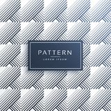 Abstract geometric lines pattern background. Vector Royalty Free Stock Photo