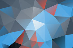 Abstract geometric Low poly background Stock Images
