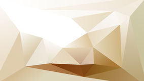 Abstract Geometric Lowpoly Background. Cream Abstract Geometric Lowpoly Background Vector Stock Photography