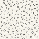 Abstract geometric memphis fashion 70s retro pillow dots pattern. Background Royalty Free Stock Photography