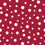 Abstract geometric memphis fashion 70s retro pillow dots pattern Royalty Free Stock Photo