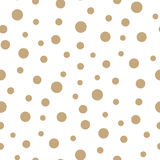 Abstract geometric memphis fashion 70s retro pillow dots pattern. Background Stock Photography