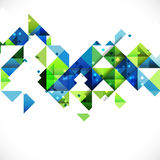 Abstract geometric modern background for Business or tech presentation, vector & illustration Stock Photography
