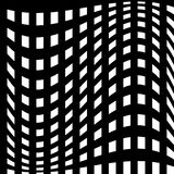 Abstract geometric monochrome graphics with intersecting lines. Royalty free vector illustration royalty free illustration