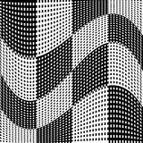 Abstract geometric monochrome graphics with intersecting lines. Royalty free vector illustration vector illustration
