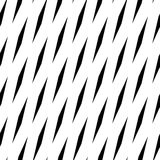 Abstract geometric monochrome, minimal artistic pattern. Seamles Royalty Free Stock Photography