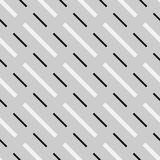 Abstract geometric monochrome, minimal artistic pattern. Seamles Stock Photo