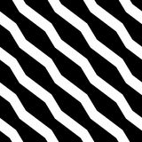 Abstract geometric monochrome, minimal artistic pattern. Seamles Stock Photography