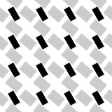 Abstract geometric monochrome, minimal artistic pattern. Seamles Royalty Free Stock Photos