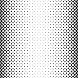 Abstract geometric monochrome rounded square pattern background - vector design with diagonal squares in varying sizes Stock Photo
