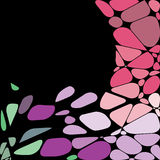 Abstract geometric mosaic background. Vector Illustration Stock Photography
