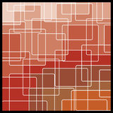 Abstract Geometric Mosaic Background. Red, Brown Royalty Free Stock Photos