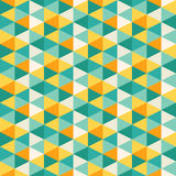 Abstract geometric mosaic pattern Stock Image