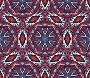 Abstract geometric mosaic seamless pattern Royalty Free Stock Photos