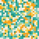 Abstract geometric mosiac pattern Stock Photo