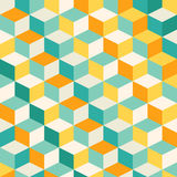 Abstract geometric mosiac pattern Stock Photography