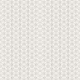 Abstract geometric ornamental pattern of intersecting rhombuses. Stock Image