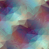 Abstract geometric paisley. Royalty Free Stock Images