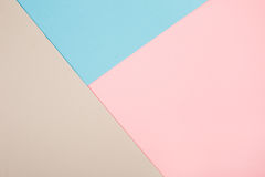 Abstract geometric paper background Stock Photography