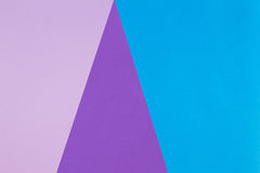 Abstract geometric paper background. Blue and purple colors Royalty Free Stock Photos