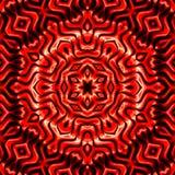 Abstract geometric pattern. Sacred fractal texture mandala design art blue green yellow photo manipulation background vector illustration