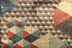 Abstract geometric pattern as background Stock Photo