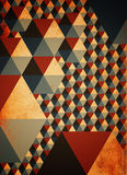 Abstract geometric pattern as background Royalty Free Stock Image