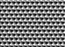 Abstract geometric pattern as monochrome background Royalty Free Stock Photography