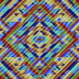 Abstract geometric pattern in aztecs style Stock Photography