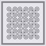 Abstract geometric pattern background. Royalty Free Stock Photo