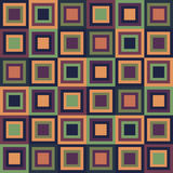 Abstract Geometric Pattern Background With Colorful Squares. Geometric Pattern Background With Colorful Squares royalty free illustration