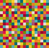 Abstract Geometric Pattern Background With Colorful Squares Royalty Free Stock Image