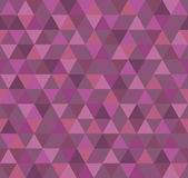 Abstract Geometric Pattern Background With Colorful Triangles Stock Photo