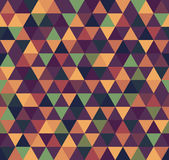 Abstract Geometric Pattern Background With Colorful Triangles. Geometric Pattern Background With Colorful Triangles Stock Illustration