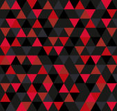 Abstract Geometric Pattern Background With Colorful Triangles Stock Image