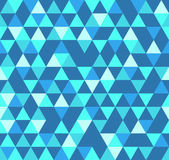 Abstract Geometric Pattern Background With Colorful Triangles Stock Images