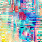 Abstract geometric pattern Royalty Free Stock Photos