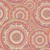 Abstract geometric pattern circular orient ornament. Stock Photos