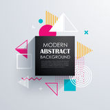 Abstract geometric pattern design and background. Use for modern. Design, cover, template, decorated, brochure, flyer royalty free illustration