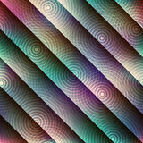Abstract geometric pattern with diagonal strikes. Stock Images