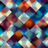 Abstract geometric pattern with diagonal strikes. Seamless background pattern. Abstract geometric pattern with diagonal strikes Stock Photos