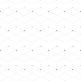 Abstract geometric pattern dot with rhombuses Royalty Free Stock Images