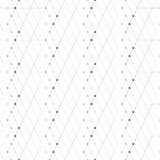 Abstract geometric pattern dot with rhombuses Royalty Free Stock Image