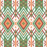 Abstract geometric pattern in ethnic style. American tribal seamless pattern. Geometric design in ethnic style Royalty Free Stock Image